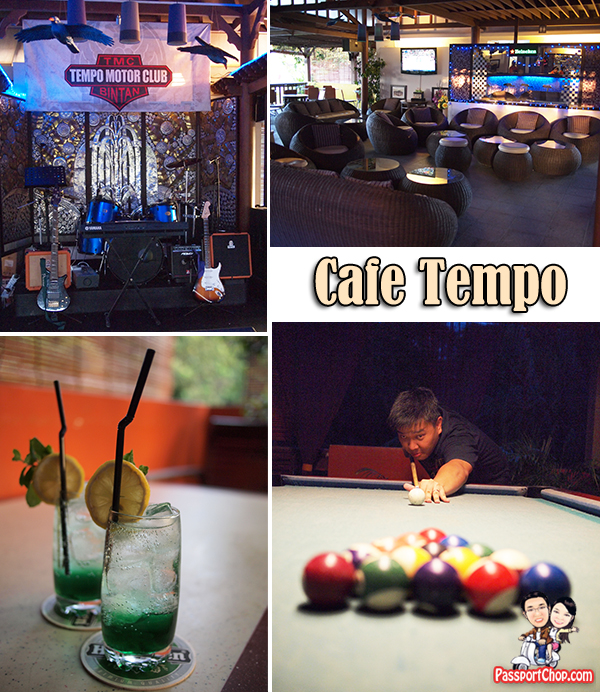 Bintan Nirwana Gardens Aroma Day Spa Cafe Tempo Pool Game Bar