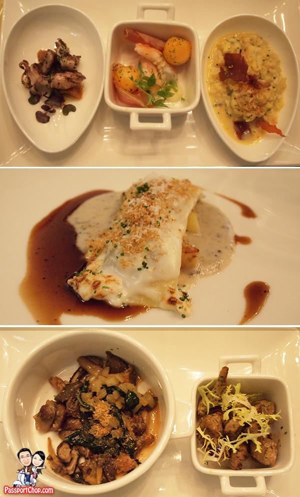 Santi Santamaria Marina Bay Sands Mediterranean food Dinner Marina Bay Sands Celebrity Restaurants Spanish Tapas Bar Fine Dining