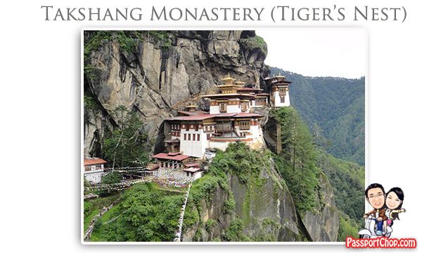 Taktsang Palphug Monastery Tiger's Nest Monastery Bhutan Paro