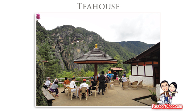 Taktsang Cafeteria Coffee Tea Snacks Lunch Rest Stop Midpoint Trail towards Taktsang Palphug Monastery Tiger's Nest Monastery Bhutan Paro
