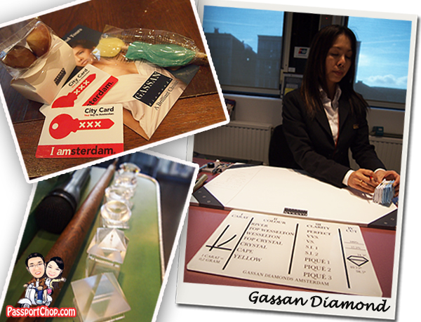 Gassan Diamonds Souvenir I Amsterdam Card City Pass 72 hours Public Transport Attractions Museum Fast Lane Free