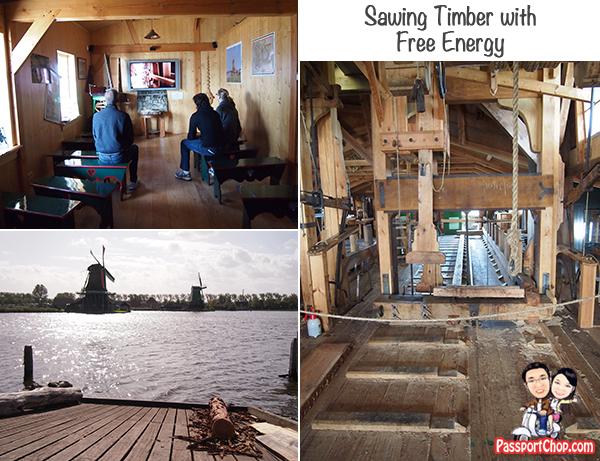 Cap Winder Sawmill Het Jonge Schaap Zaanse Schans Windmills Open Air Museum Zaandam Amsterdam Holland