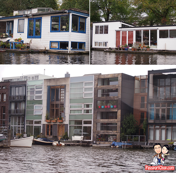 Canal Bus Cruise Ride Amsterdam Holland the Netherlands Canal Bike Houseboat Cruise Scenic View
