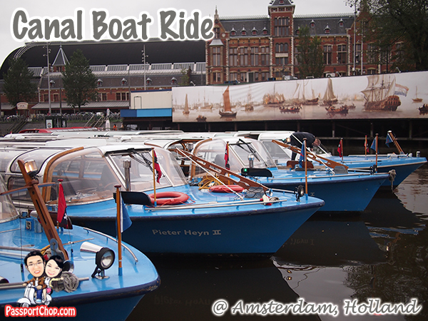 Canal Bus Cruise Ride Amsterdam Holland the Netherlands Canal Bike