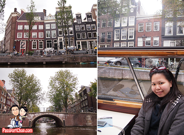 Houseboat Canal Bus Cruise Ride Amsterdam Holland the Netherlands Canal Bike