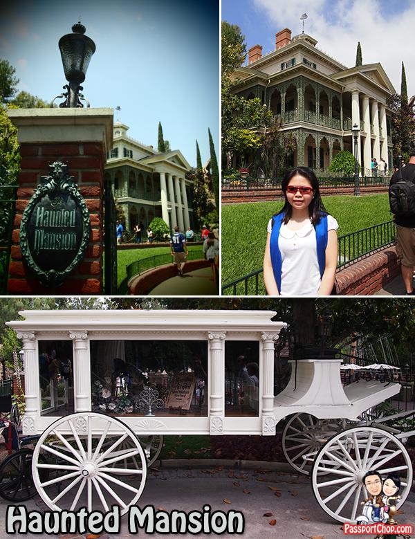 Los Angeles Anaheim Disneyland Park Haunted Mansion