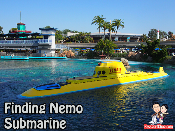 Finding Nemo Submarine Disneyland Park Anaheim Los Angeles Tomorrowland
