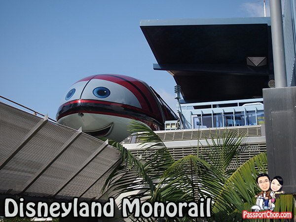 Los Angeles Disneyland Monorail Downtown Disney Skip Queues to Enter