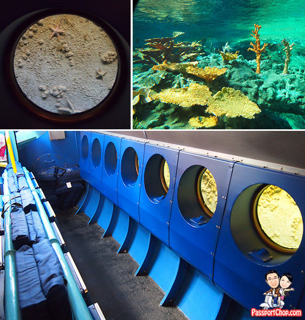 Finding Nemo Submarine Disneyland Park Anaheim Los Angeles Tomorrowland View from Inside of the Submarine