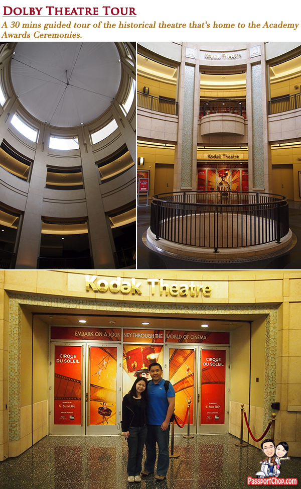 Dolby Theatre Tour Hollywood CityPASS Attractions and Tours Discounted Price Convenience