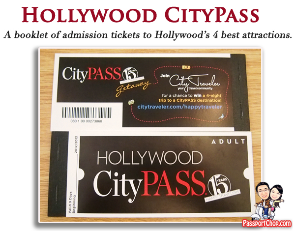 Hollywood CityPASS Attractions and Tours Discounted Price Convenience