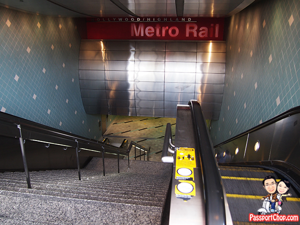 Hollywood Boulevard Filming Locations Hollywood and Highland Metro Station Red Line The Italian Job Movie Set