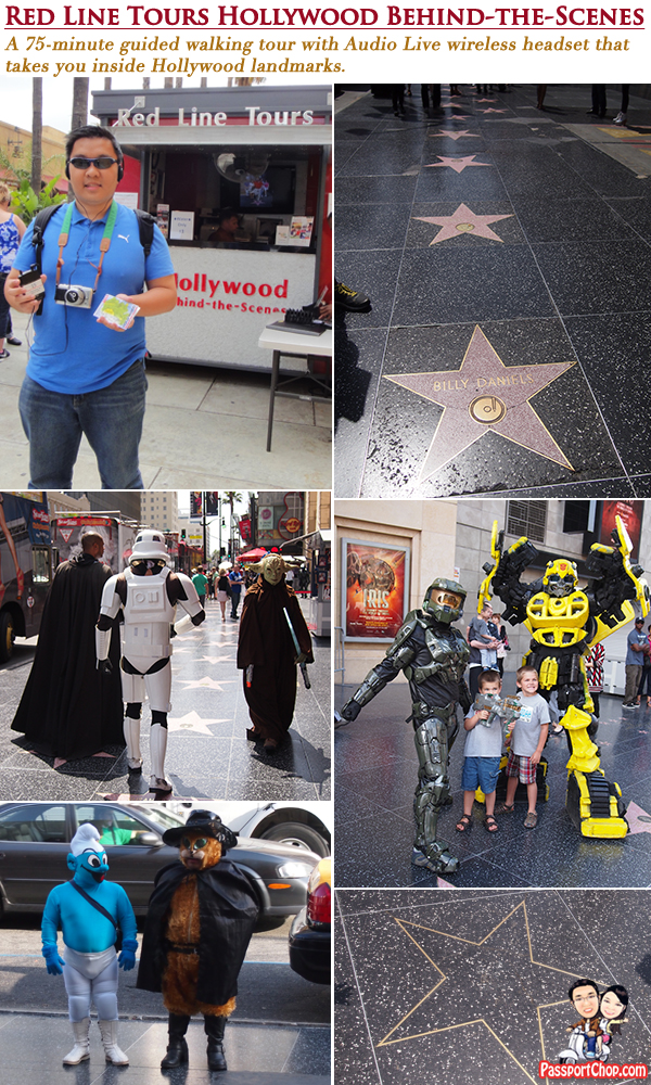Hollywood Boulevard Walk of Fame Elvis Presley Star Red Line Tour Behind the Scene Audio Live Hollywood CityPASS Attractions and Tours Discounted Price Convenience