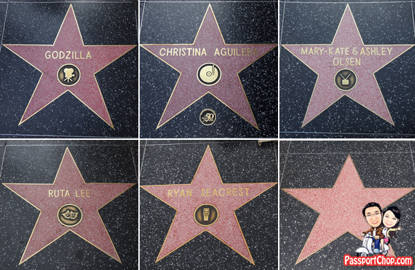 What does the Hollywood Star emblem mean, Hollywood Boulevard Walk of Fame Elvis Presley Star Red Line Tour Behind the Scene Audio Live Hollywood CityPASS Attractions and Tours Discounted Price Convenience