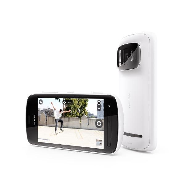 Nokia 808 PureView 41 Megapixel Camera Carl Zeiss optics