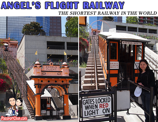 Downtown Los Angeles Sights attractions Angel's Flight Railway
