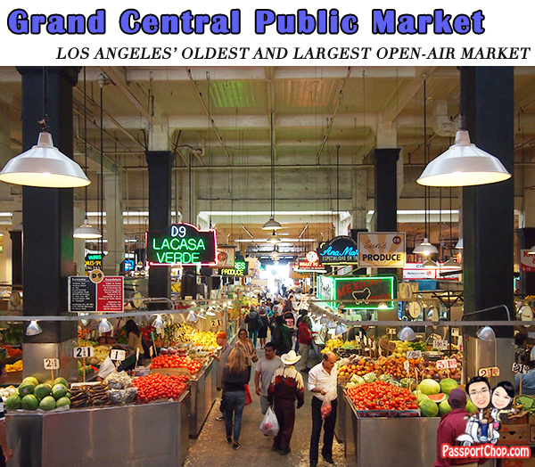 GRAND CENTRAL PUBLIC MARKET Downtown Los Angeles Sights attractions