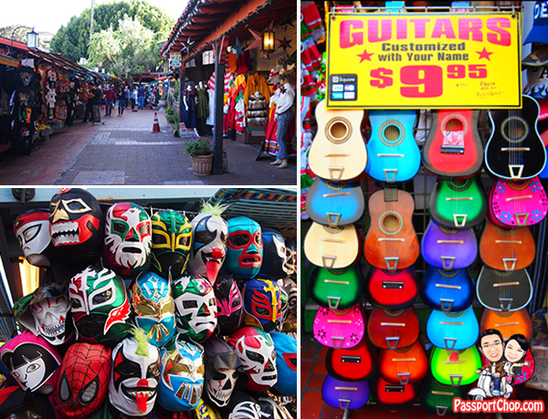 LITTLE MEXICO SHOPS Downtown Los Angeles Sights attractions Olvera Street
