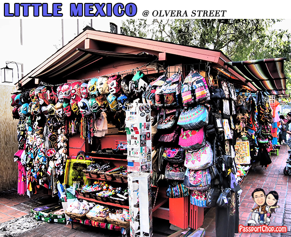 Little Mexico Downtown Los Angeles Sights attractions Olvera Street