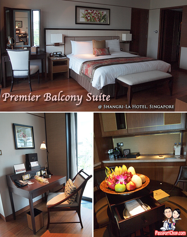 Shangri-La Hotel Singapore Premier Balcony Suite Staycation Review Garden Wing The Line
