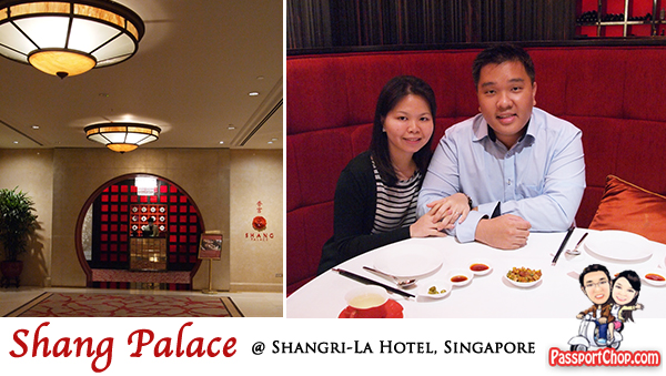 Shangri-La Hotel Shang Palace Restaurant Chinese Fine Dining Food Ambience