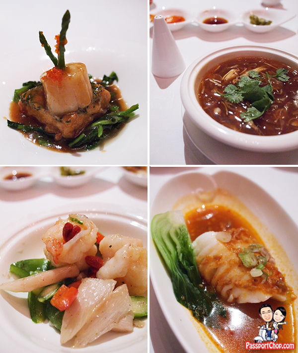 Shangri-La Hotel Shang Palace Restaurant Chinese Fine Dining Food
