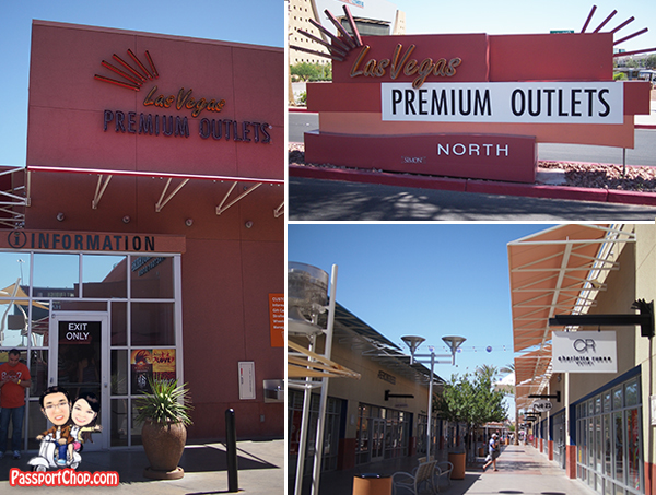 Shopping Outlet USA Shopping Factory Outlet Premium Outlet Las Vegas North VIP Discount Booklet