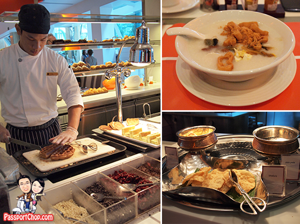 Shangri-La Hotel Singapore The Line Breakfast Sumptuous Buffet Spread International Asian Local Singaporean Cuisines Yummy Awesome
