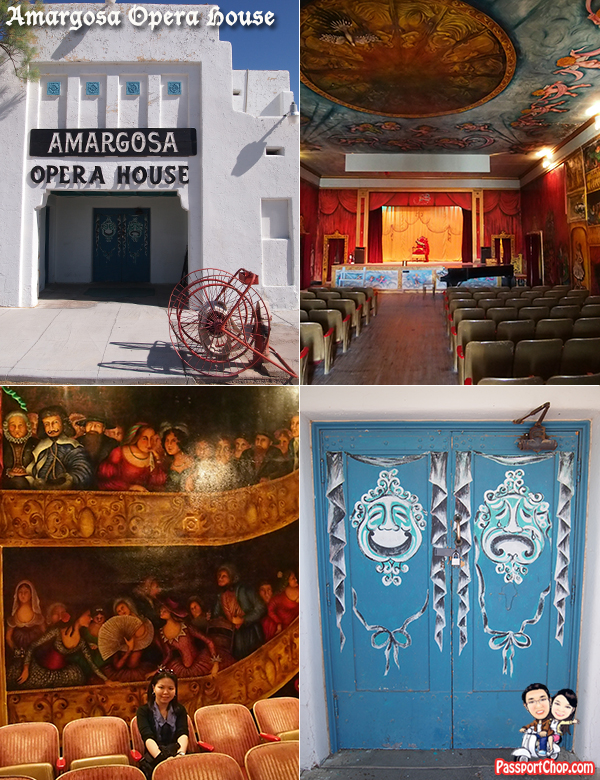 Amargosa Opera House Murals and Hotel Viator Itinerary Death Valley Day Tour from Las Vegas