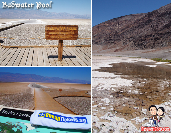 Badwater Pool Death Valley Day Tour from Las Vegas Viator Death Valley National Park