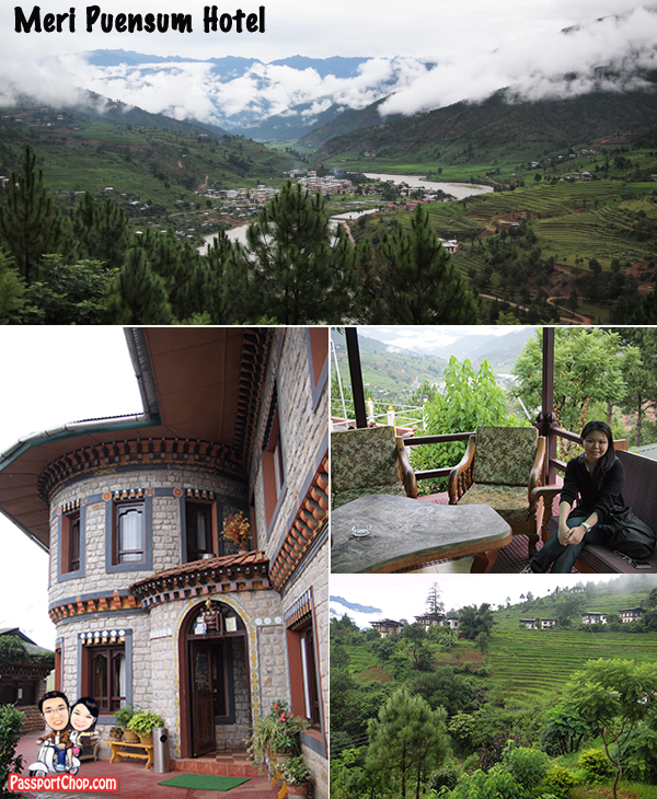 Bhutan Hotel Review Punahka Meri Puensum Resort Great Views of Punakha Valley