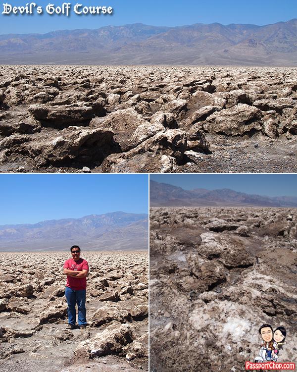 Devils Golf Course Salt Plains Dune Flat Bed Death Valley Day Tour from Las Vegas Viator Death Valley National Park