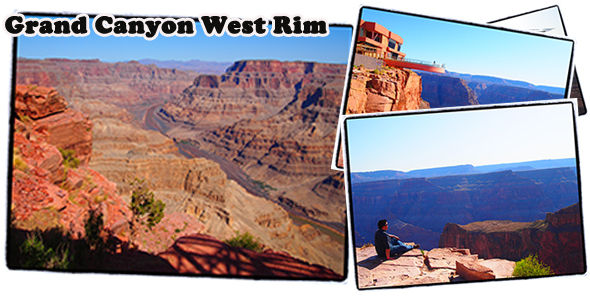 Exploring Grand Canyon West Rim by Air & Ground Tour from Las Vegas