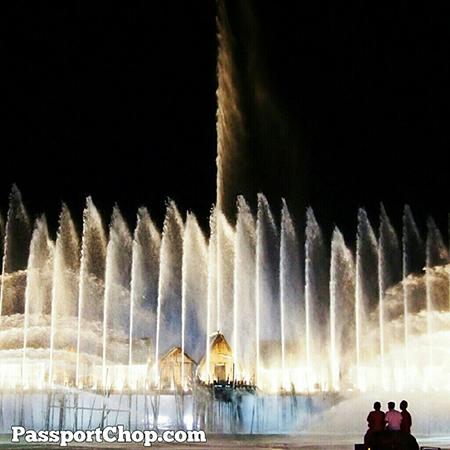 Amazing fountain display @Sentosa_Island Songs of the Sea #sentosa40 #travel @ Songs Of The Sea Show