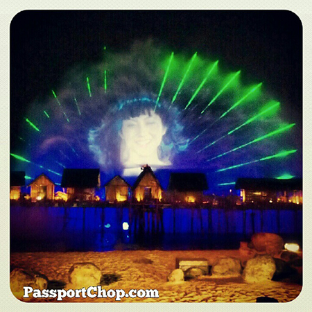 Excellent light show @Sentosa_Island Songs of the Sea #travel @ Songs Of The Sea Show