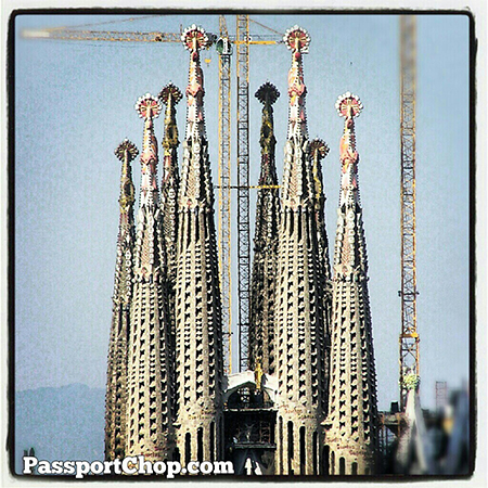 Spain Barcelona Sagrada Familia: work in progress for 130yrs @SpainSEA @cheaptickets_sg @visitabarcelona