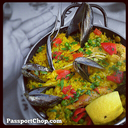 Spain Barcelona Yummy plate of Paella @cheaptickets_sg @visitabarcelona @SpainSEA #foodporn