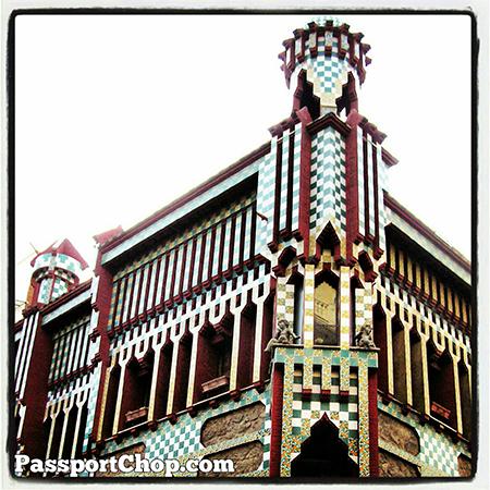spain Barcelona Beautiful Gaudi designed #architecture @SpainSEA @visitabarcelona @cheaptickets_sg @spain