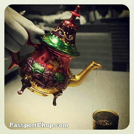 Moroccan mint tea @ShangriLaHotels Casserole #LovingtheMoment #foodporn @ Casserole