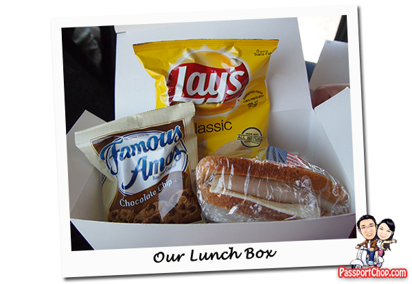 Boxed Lunch Sandwich Death Valley Day Tour from Las Vegas Viator Death Valley National Park