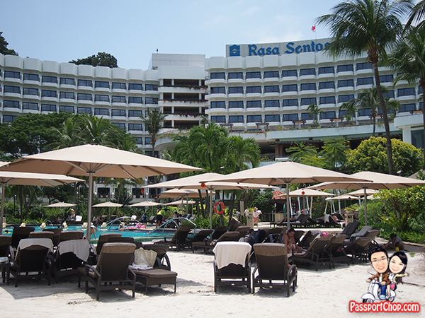Rasa Sentosa Shangri-La Hotel Staycation Beach Holiday Vacation Family Friendly Swimming Pool