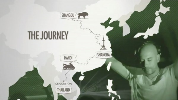 Heineken Passport Man of the World Campaign Journey from Mongolia to Thailand Bangkok Sensation