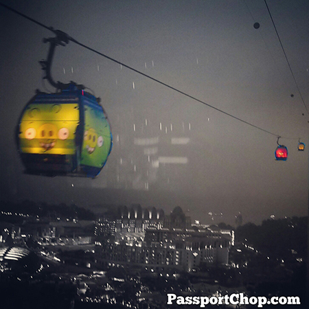Halloween Singapore Sentosa 4D Magix Cable Car angry Bird Deadly Ever After
