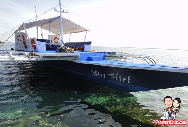 Cebu Plantation Bay Resort and Spa Philippines Sea Sports Fishing Boat Miss Flirt Island Hopping Tours Snorkelling Philippines Sea Snorkeling Coral Reef Encounter Mactan Channel Cruise