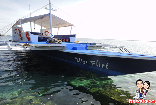 Cebu Plantation Bay Resort and Spa Philippines Sea Sports Fishing Boat Miss Flirt Island Hopping Tours Snorkelling Philippines Sea Snorkeling Coral Reef Encounter Mactan Channel Cruise