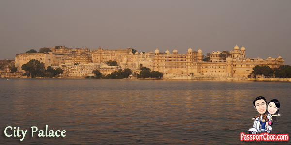 Udaipur City Palace Rajasthan India
