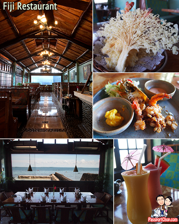 Cebu Plantation Bay Resort & Spa Restaurants Food Fiji Restaurant Seafood