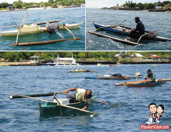 Cebu Plantation Bay Resort and Spa Philippines Sea Sports Jet Skiing Jet-Ski Tour Waterski Mactan Channel Cruise Fishing Fisherman