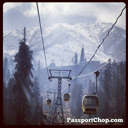 Gulmarg Gondola Cable Car Glacier Mountain Meadow of Flowers Pir Panjal range 1st Phase 10200feet