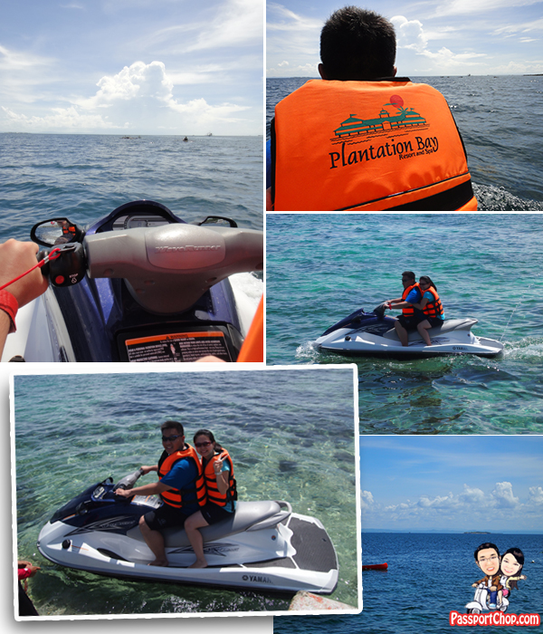 Cebu Plantation Bay Resort and Spa Philippines Sea Sports Jet Skiing Jet-Ski Tour Waterski Mactan Channel Cruise
